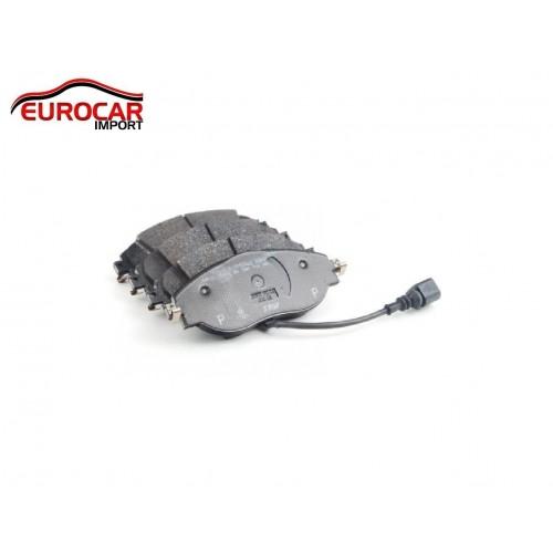 Pastilhas de Freio Dianteiro com Sensor de Desgaste Audi A3 1.8  14-15